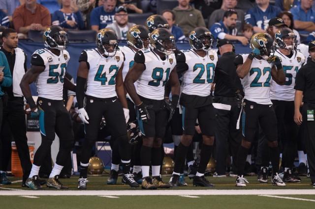 NFL: OCT 22 Jaguars at Colts